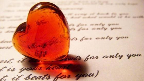 стихи и стеклянное сердце