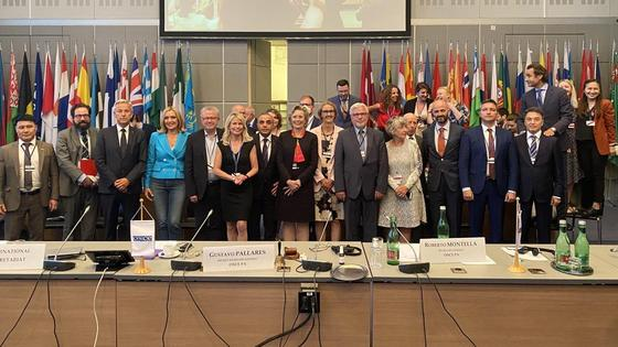 Участники летней сессии ПА ОБСЕ