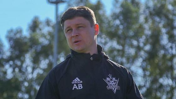 "Алексей Бага, тренер ""Актобе"""