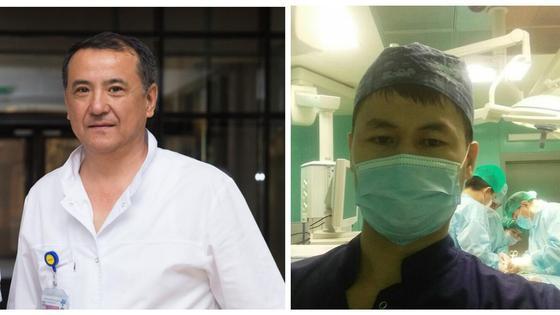 Канат Тезекбаев и Аскар Тунгушбаев