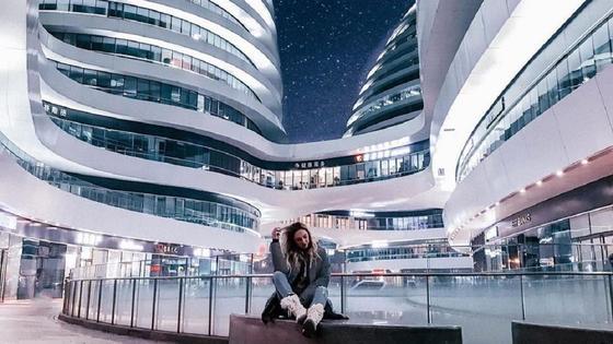 Здание в Китае