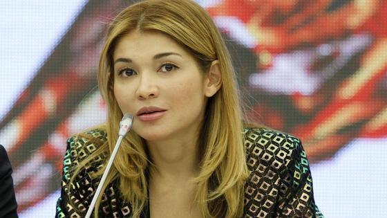 Старшая дочь президента Узбекистана Гульнара Каримова