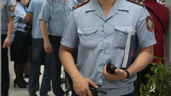 Полиция. Фото NUR.KZ