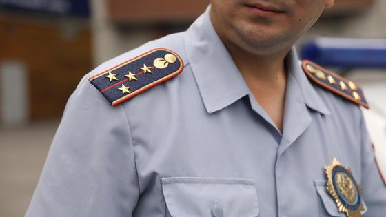 Капитан полиции на дежурстве