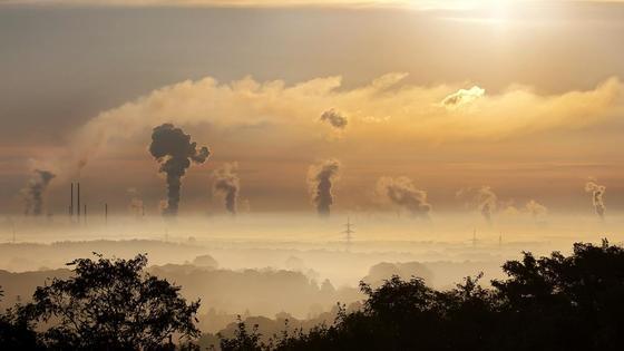 Промышленность загрязняет природу
