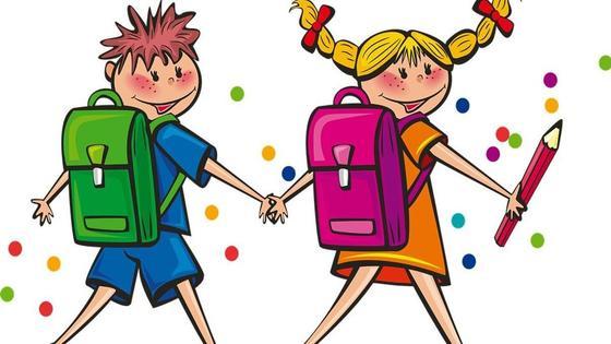 школьники (рисунок)