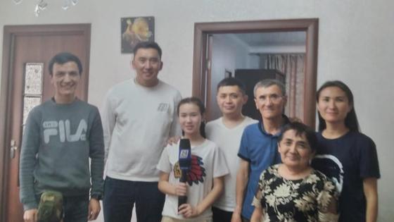 Семья Саята Жолдасбаева