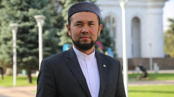 Наиб имам Центральной мечети города Алматы Мадияр Пиримкулов