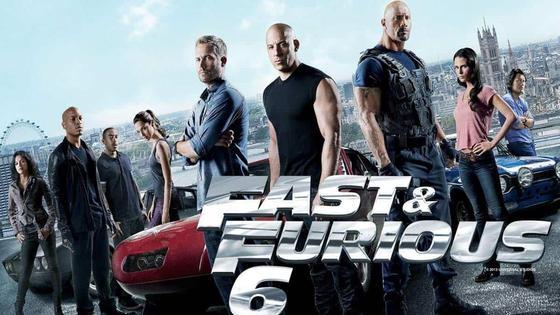постер фильма «Форсаж 6»