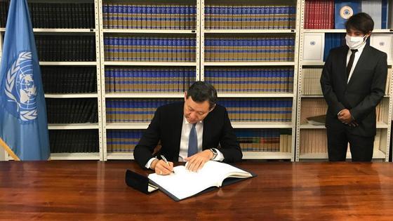 Постоянный представитель Казахстана при ООН Кайрат Умаров