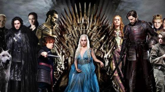 постер «Игра престолов»