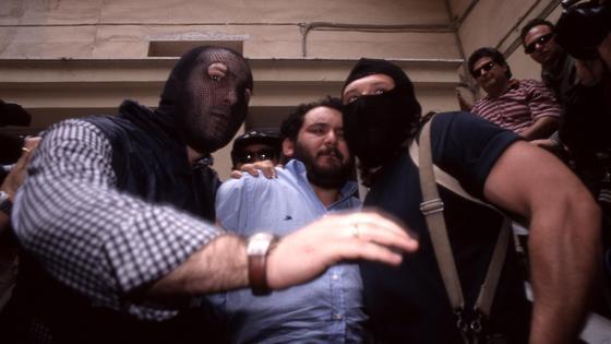 Арест Джованни Бруски в 1996