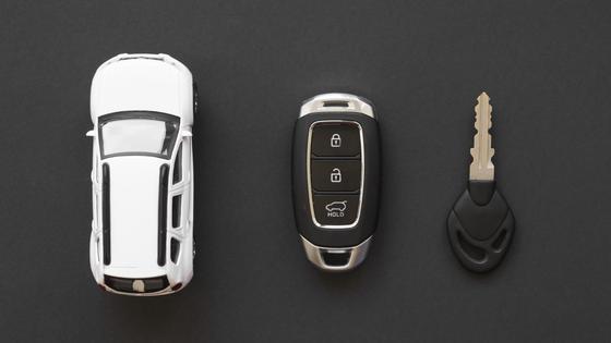 Модель авто и ключи