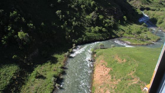 Река в Туркестанской области