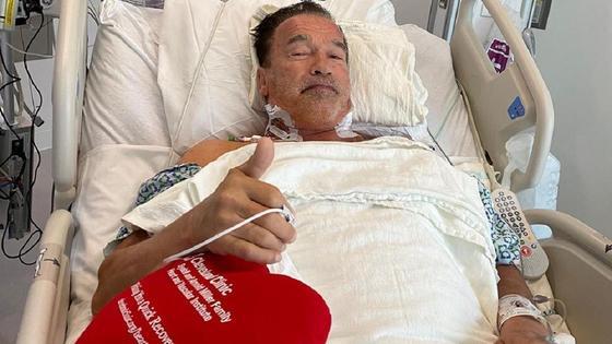 Арнольд Шварценеггер в больнице