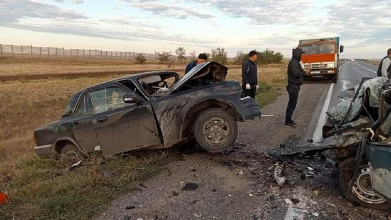 ДТП в Актюбинской области