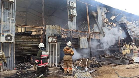 Пожар в общежитии в Мангистау