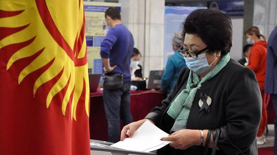 Қырғызстанның сайлау комиссиясы Жогорку Кенеш сайлау нәтижелерін жарамсыз деп таныды