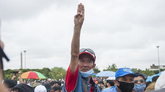 митинги в таиланде