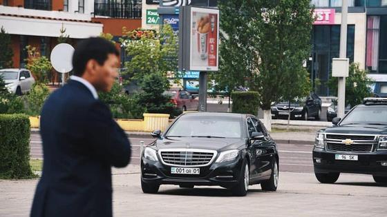 авто с номерами Нурсултана Назарбаева
