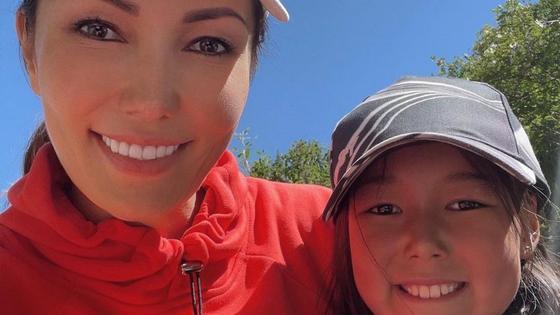 Алия Назарбаева и ее дочь Алсара