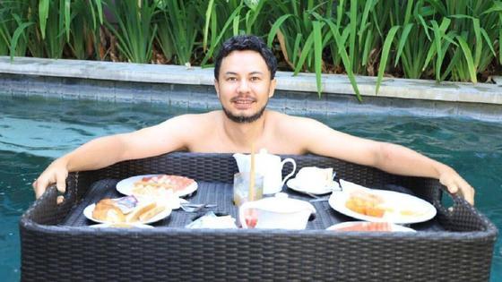 Айдар на Бали