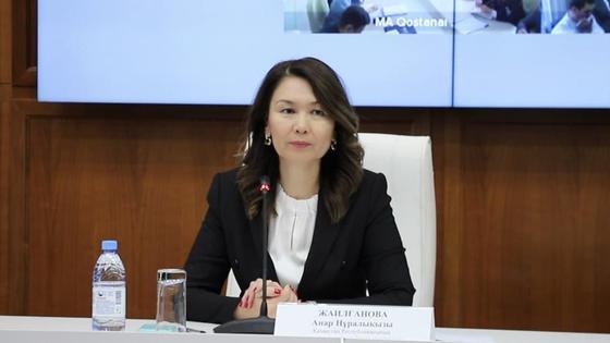Анар Жаилганова. Фото агентство РК по делам госслужбы