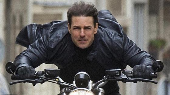 Том Круз в кадре из фильма «Миссия невыполнима»