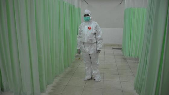 Медработник в больнице