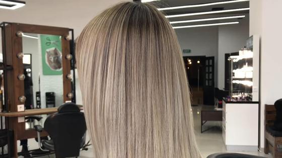 Окрашивание шатуш на длинных волосах