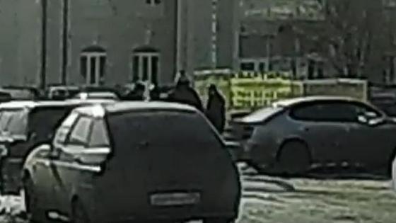 Драка таксистов в Караганде