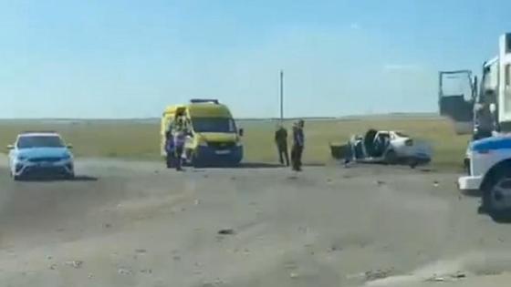 ДТП в Карагандинской области