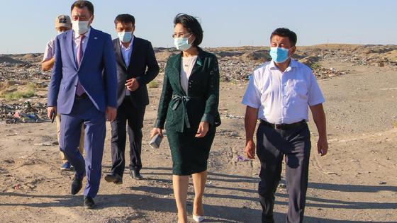 Парламент Сенатының депутаты Қызылордаға арнайы жұмыс сапарымен барды
