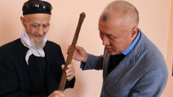 Посох в Туркестанской области