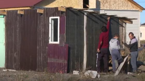 Дом для переселенцев с юга в СКО