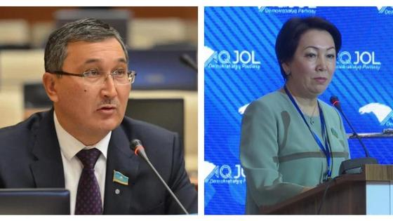 Талгат Ергалиев и Дания Еспаева