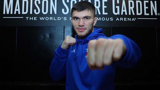 Казахстанский боксер Али Ахмедов
