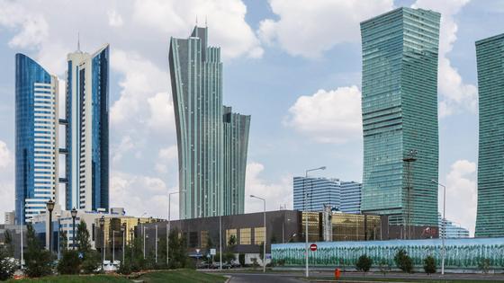 небоскребы в Казахстане