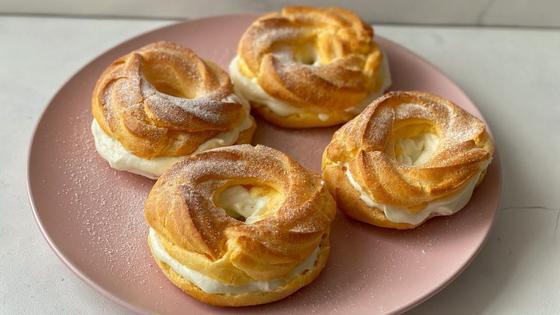 Пирожное «Пари-Брест»