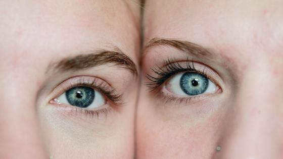 глаза девушек