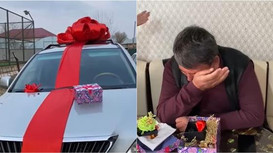 Подарок в Туркестанской области