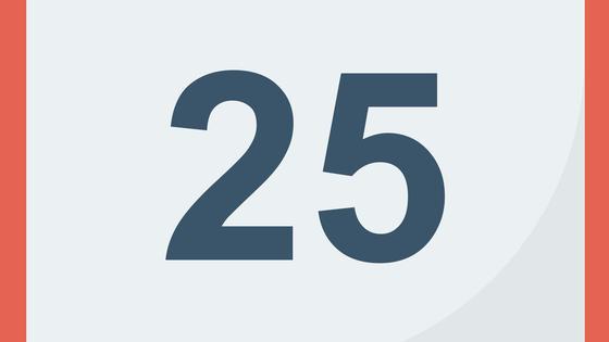 календарь 25