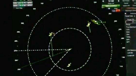 Американские военные преследовались НЛО