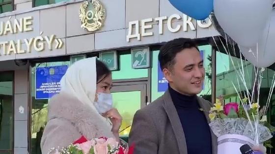 Тауекел Мусилим и Махаббат Туктибаева