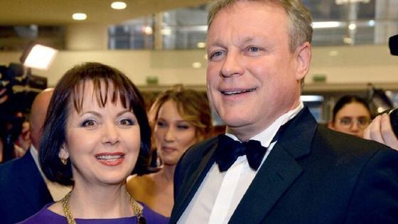 Сергей Жигунов с Верой Новиковой. Фото