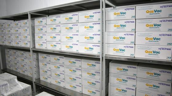 Казахстанская вакцина от COVID-19 QazVac