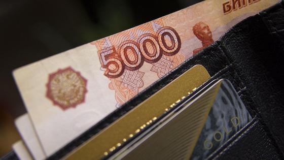 5000 рублей в кошельке