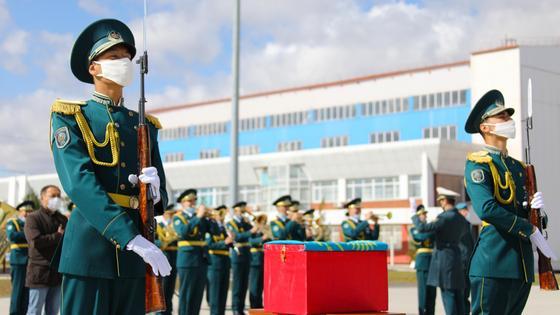 Казахстанские воины