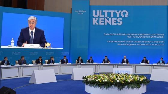 Заседание национального совета общественного доверия