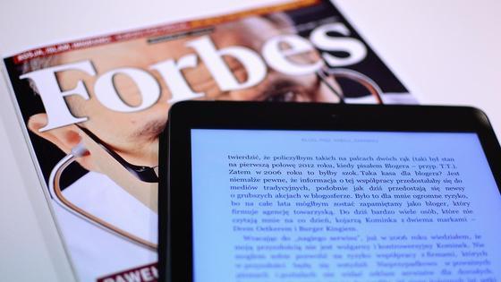 журнал Forbes и электронная книга